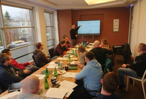 March 2, 2020 – training session on the electrical qualifications of the G1 group
